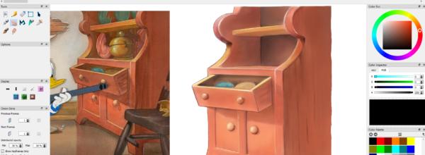 Disney style backgrounds