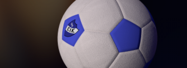 Soccer ball in Blender